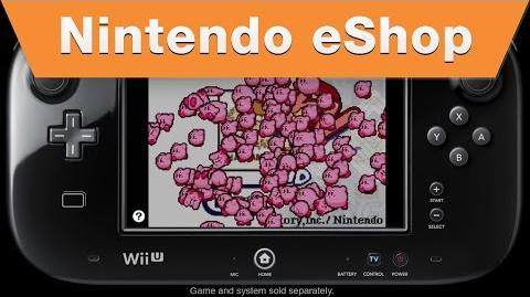 Nintendo eShop - Kirby Nightmare in Dreamland on the Wii U Virtual Console (2014)
