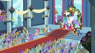 "My Little Pony Friendship is Magic ""A Canterlot Wedding - Part 2"" (Clip) - The Hub"
