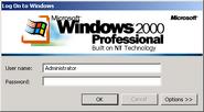 Windows2000 logon