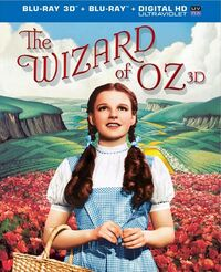 The Wizard of Oz 2013 Blu-ray 3D