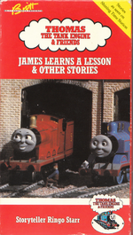 JamesLearnsALesson 1990VHS