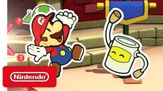 Paper Mario Color Splash - Time to Make a Splash!
