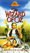 The Wizard of Oz 1992 VHS (UK)