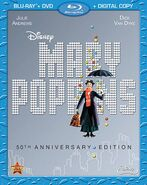 Mary Poppins 2013 Blu-ray