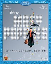 Mary Poppins 2013 Blu-ray