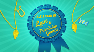 'All's Fair in Love & Friendship Games' animated short title card EG3
