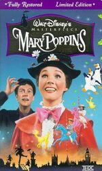Mary Poppins 1997 VHS