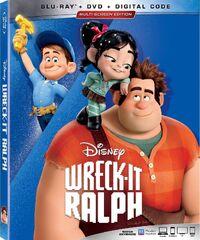 Wreck-It Ralph 2019 Blu-ray