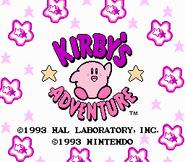 Kirbysadventure title