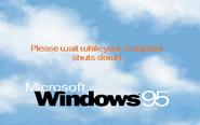 Windows95 shutdown