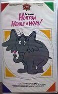 Horton Hears a Who 1986 VHS