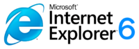 Internet Explorer logo 6