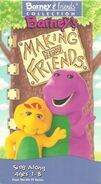 Barney's Making New Friends (VHS)