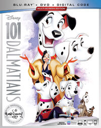 101 Dalmatians 2019 Blu-ray