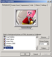 Windows2000 display