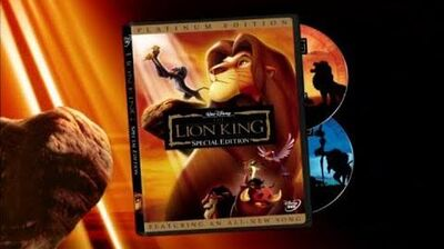 The Lion King - Platinum Edition DVD Trailer 2