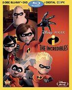 The Incredibles (DVD/Blu-ray)