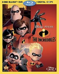 Incredibles bluray
