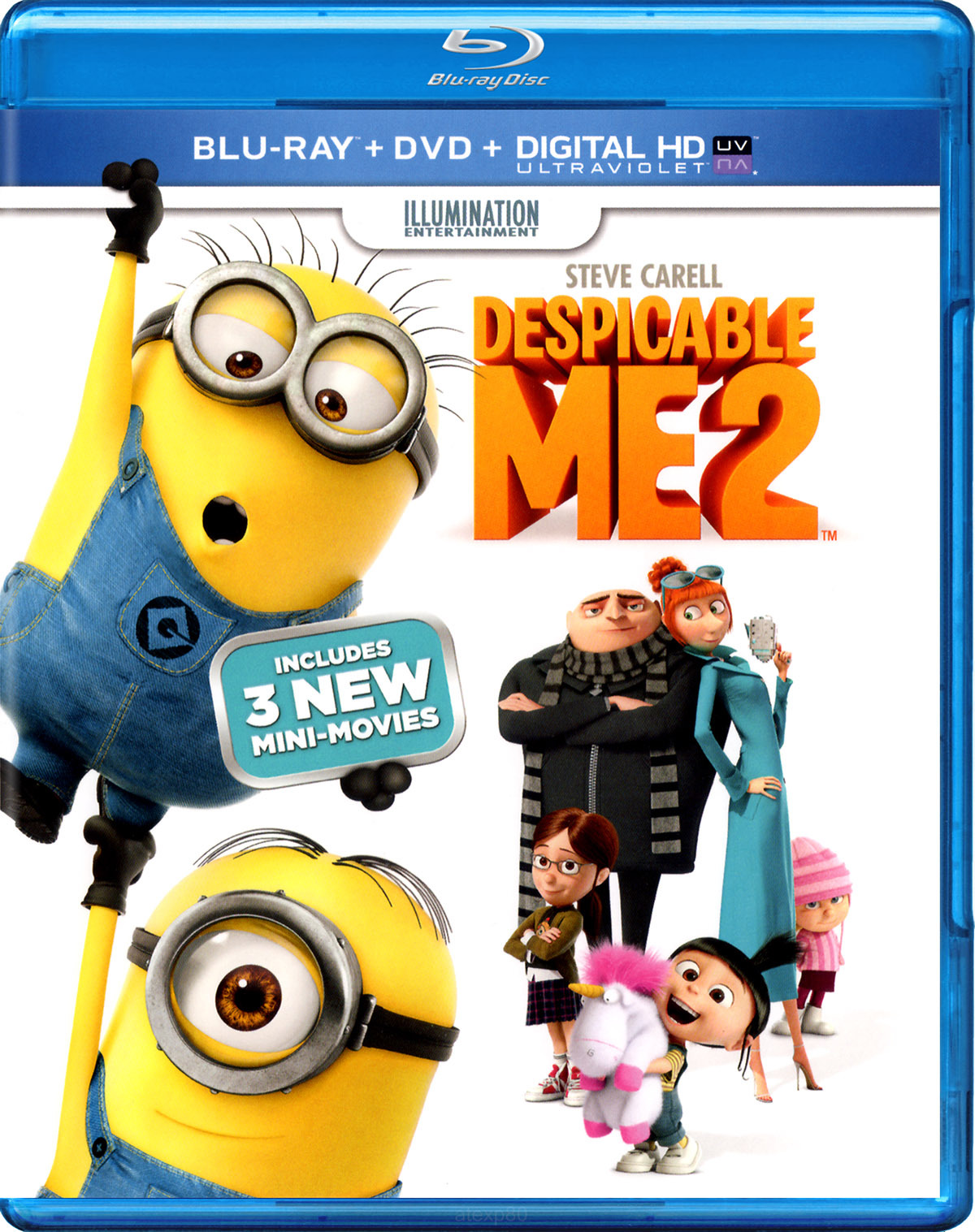 Despicable Me 2 (Blu-ray/DVD) | Twilight Sparkle's Media Library
