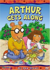 Arthur Gets Along DVD