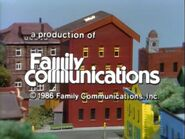 1986 Family Communications Logo