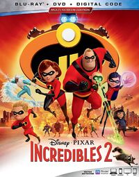 Incredibles2 bluray