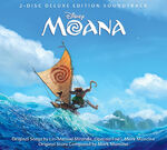 Moana Soundtrack CD