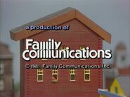 1981 Family Communications Logo