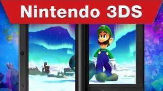 Nintendo 3DS - Mario & Luigi Dream Team E3 Trailer