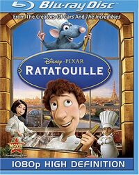 Ratatouille bluray