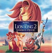 The Lion King 2 2004 Audio CD