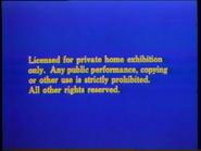 Disney Blue Warning (1979) Remake