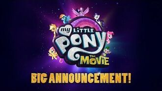 My Little Pony The Movie (2017) BIG Announcement! – Emily Blunt, Sia, Zoe Saldana
