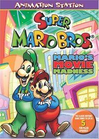 MarioMovieMadness DVD