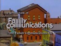 1995 Family Communications Logo