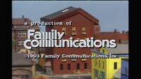 1993 Family Communications Logo