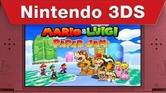 Mario & Luigi Paper Jam - Just the Fax Trailer