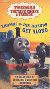 Thomas and His Friends Get Along and Other Thomas Adventures (VHS/DVD)