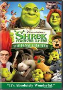 Shrek4 dvd