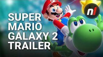 Super Mario Galaxy 2 Official E3 Trailer