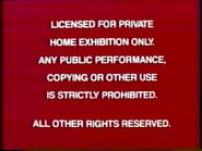 Disney Maroon Red Warning (1986) Remake