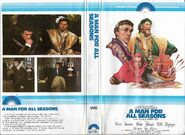 A man for all seasons 1979 vhs cover box