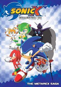Sonic X Complete Season 3 DVD