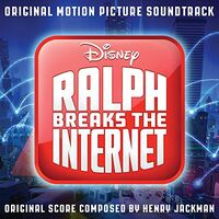 Ralph Breaks the Internet Soundtrack CD