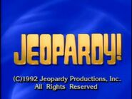 Jeopardy 1992