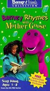 Barney Rhymes with Mother Goose (VHS)