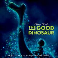 The Good Dinosaur Soundtrack CD