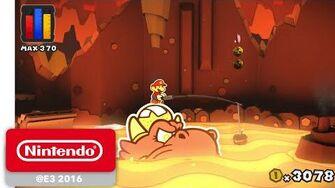 Paper Mario Color Splash - Official Game Trailer - Nintendo E3 2016