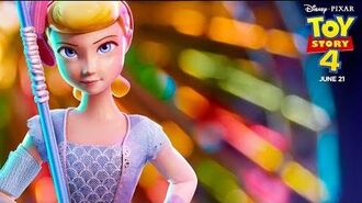 """Old Friends & New Faces Bo Peep"" TV Spot Toy Story 4"