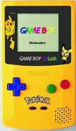 Gameboycolor pikachu